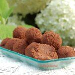 Trufle daktylowo-czekoladowe