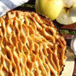 Tarta jabłkowa z kratką