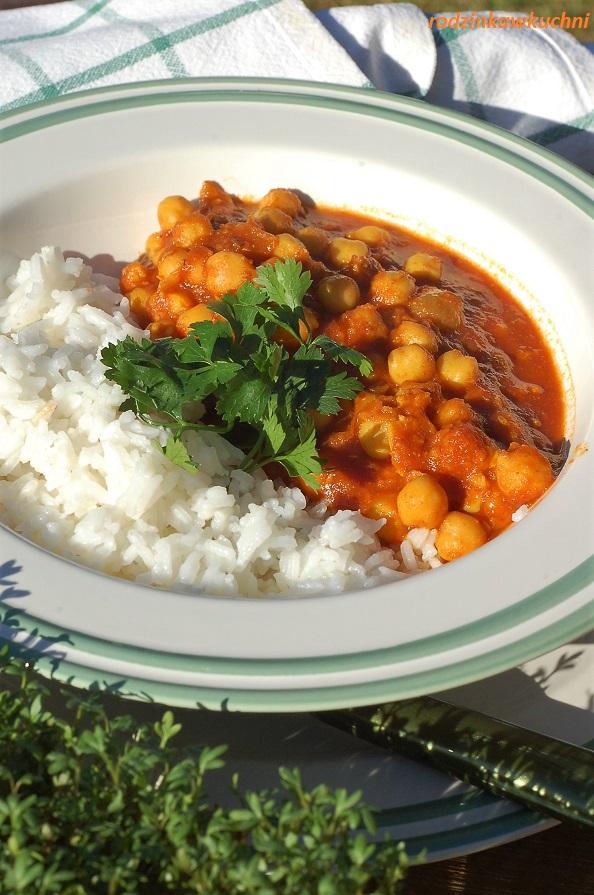 Chana masala - curry z ciecierzycy