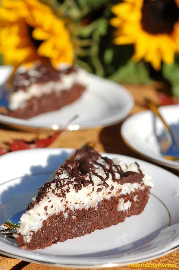 Ciasto brownie bounty