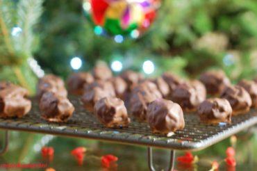 Domowe daktyle w czekoladzie
