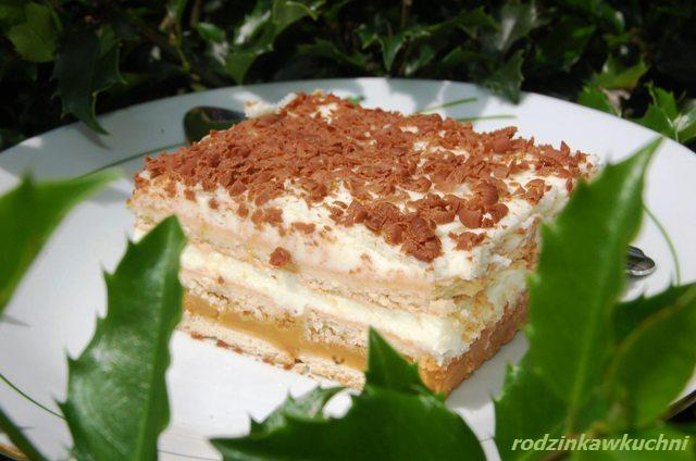 ciasto_3-bit_ciasto z kremem_ciasto bez pieczenia_ciasto z karmelem