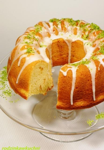 babka ucierana z limonką_ciasto ucierane_ciasto cytrusowe_Wielkanoc