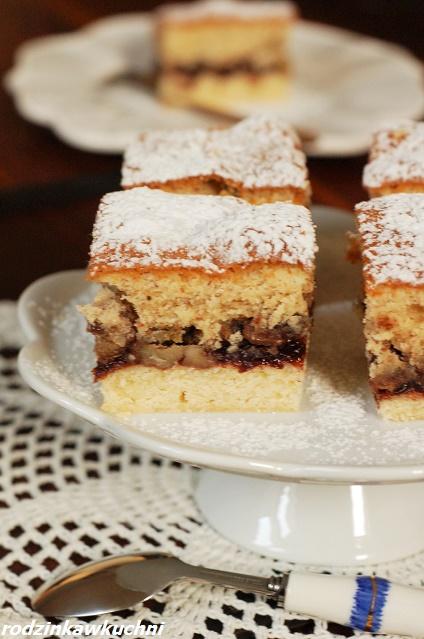 ciasto bakaliowe siostry Anastazji_ciasto ucierane_ciasto z bakaliami
