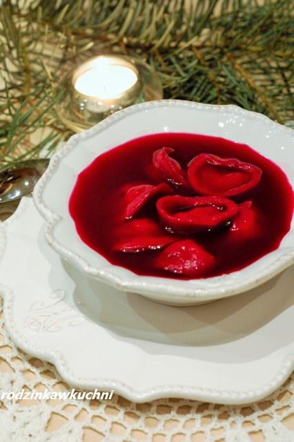 barszcz czerwony na zakwasie z buraków_barszcz czysty_barszcz tradycyjny_Boże Narodzenie i Wigilia
