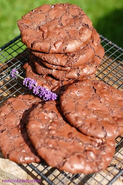 błyskawiczne ciastka czekoladowe_ciastka bez glutenu_ciastka z czekoladą