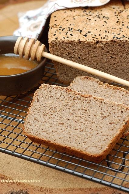 chleb gryczany na miodzie_chleb bezglutenowy_chleb na drożdżach