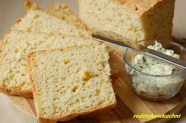 chleb kukurydziany_chleb drożdżowy_domowe pieczywo