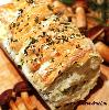 Odrywany chlebek ziołowo-czosnkowy_chleb drożdżowy_pieczywochleb domowy
