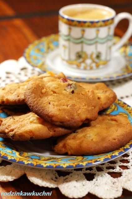 ciasteczka pełnoziarniste_ciasteczka z bakaliami_zdrowe ciasteczka