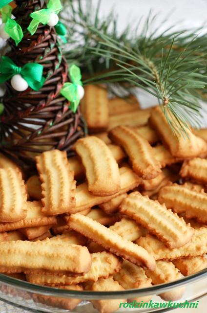 Kruche ciastka maszynkowe_ciastka kruche_Boże Narodzenie