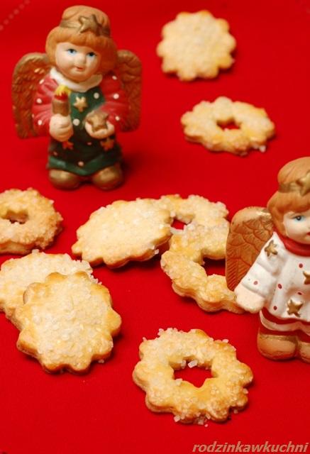 ciastka siekane_ciastka z cukrem_ciastka półfrancuskie_przepisy na Boże Narodzenie