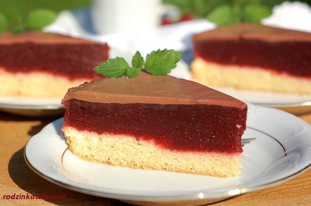 ciasto śliwkowa delicja_ciasto delicja śliwkowa_ciasto jak znane ciasteczko_ciasto z galaretką