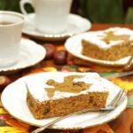 Ciasto dyniowe z duchami
