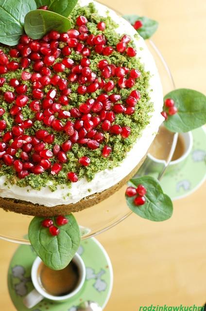 torcik leśny mech_tureckie ciasto szpinakowe_warzywa w słodyczach_przepisy na Wielkanoc