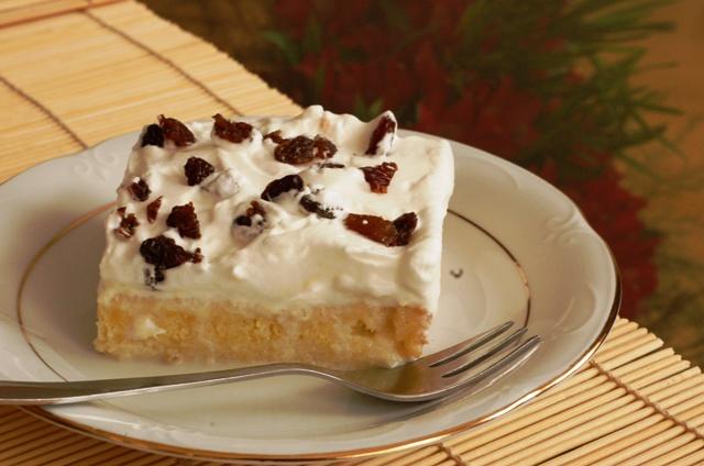 ciasto trzy mleka_tres leches_ciasto z kremem_kuchnia meksykańska