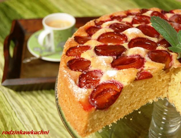 Ciasto ze śliwakmi_ciasto z owocami