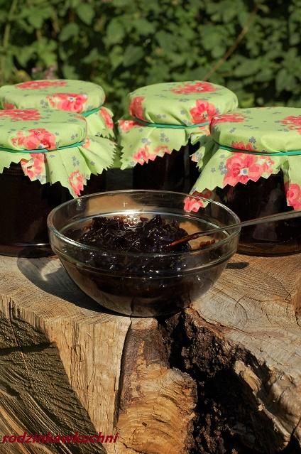 czekowiśnia, czyli konfitura wiśniowa z czekoladą_domowe przetwory_wiśniowa nutella_luksusowe przetwory