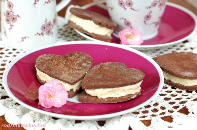 kakaowe markizy, czyli domowe oreo_ciastka z kremem_ciastka przekładane