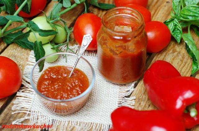 domowy keczup_przetwory z pomidorów_domowy wyrób