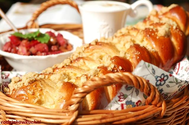 drożdżowy warkocz_chałka_drożdżówka śniadaniowa_domowe pieczywo