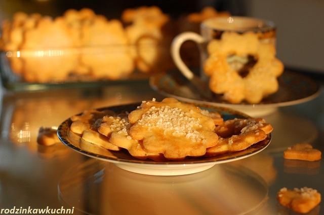 Duńskie ciastka maślane bez glutenu_ciastka kruche_ciastka z cukrem_ciastka bezglutenowe