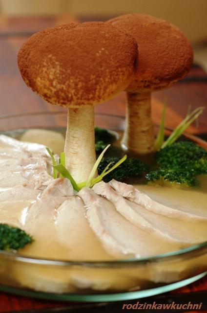 grzybki toruńskie, czyli schab w galarecie_przystawki_mięso w galarecie_dania z wieprzowiny