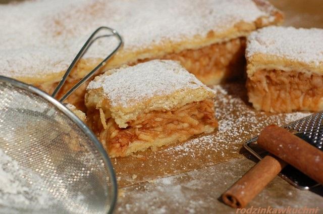 jabłecznik siostry Anastazji_kruche ciasto z jabłkami_ciasto z owocami_szarlotka