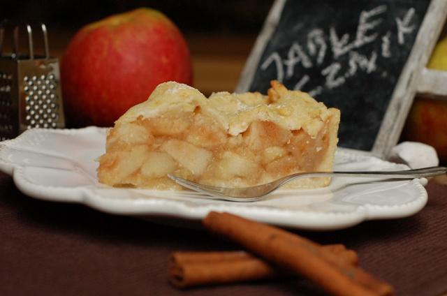 jabłecznik amerykański_apple pie_american pie_szarlotka na kruchym cieście