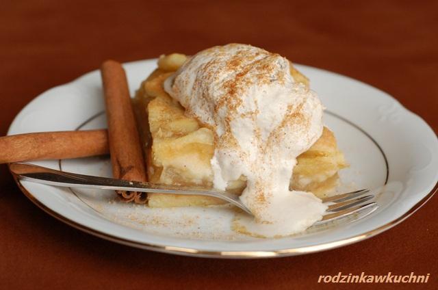 jabłecznik kostka_ciasto z owocami_kruche ciasto