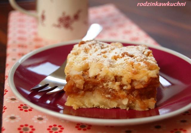 jabłecznik kruszonkowy_szarlotka_ciasto z owocami_ciasto kruche