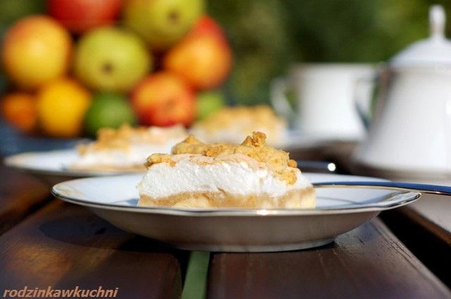 jabłecznik mazurski_jabłecznik na kruchym cieście_jabłecznik z pianką_jabłecznik z kruszonką_szarlotka z jabłkami
