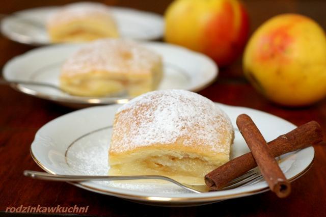 Jabłecznik serowy_ciasto z owocami_kruche ciasto_ciasto serowe_szarlotka