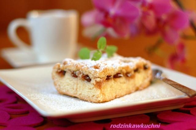 jabłecznik ze starego zeszytu_szarlotka_ciasto z owocami_ciasto kruche
