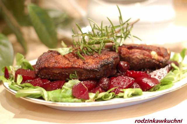 kaczka w sosie piernikowym_dania z drobiu_danie słono-słodkie_danie świąteczne