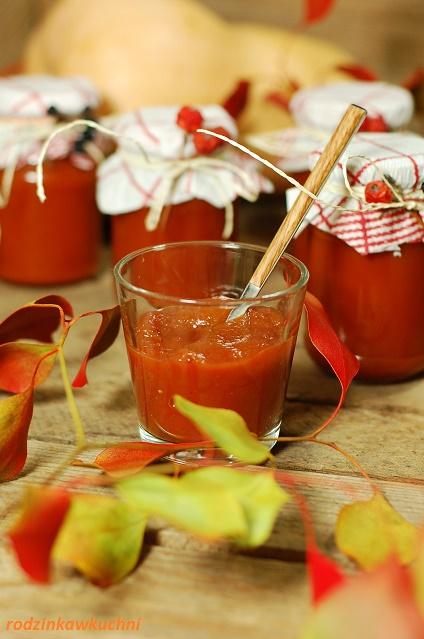 keczup z dyni_sos do mięs i serów_sos pomidorowy_przetwory z dyni
