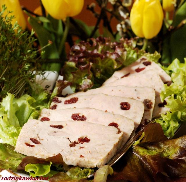 klops z polędwiczką i żurawiną_pieczeń jak rzymska_pieczeń z mięsa mielonego_pieczeń na wielkanoc