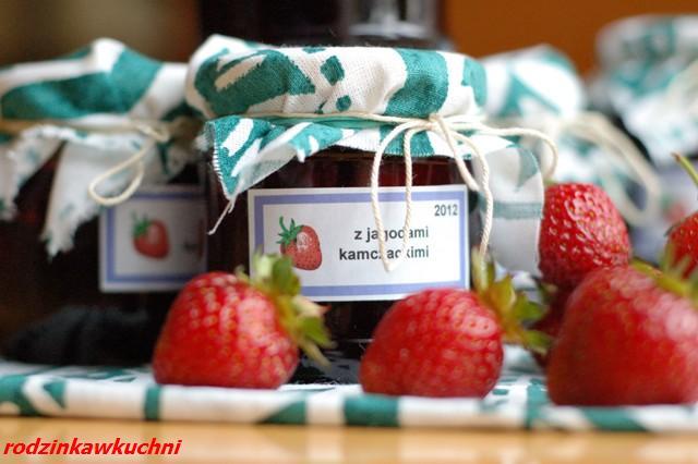 Konfitura truskawkowo-jagodowa_przetwory