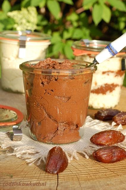 domowa migdałowa nutella_zdrowa nutella_zdrowe słodycze_słodycze bez cukru