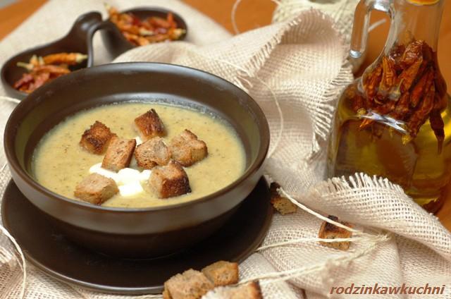 zupa krem z cukinii_dania dietetyczne_dania wegetariańskie