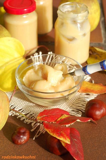 krem jabłkowy z czekoladą_krem z białą czekoladą_jabłkowa nutella_przetwory z jabłek