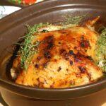 Kurczak pieczony z estragonem