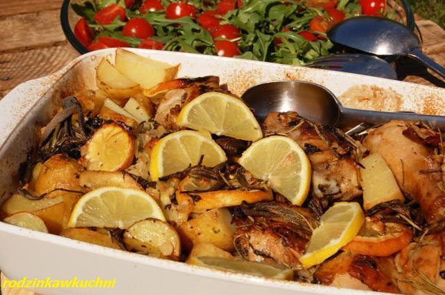 kurczak w ziołach_dania z drobiu_dania błyskawiczne_dania z ziołami