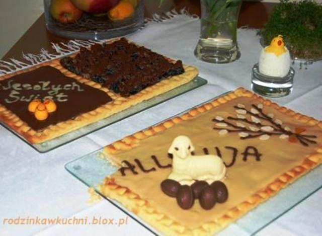 mazurek kajmakowy, śliwkowy, marcepanowo-różany