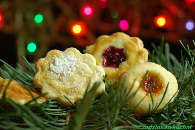 mieszanka kruchych ciastek_ciastka kruche_ciastka Rouxa_drobne wypieki_przepisy na Boże Narodzenie