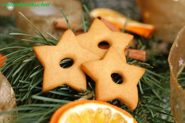 miodowe gwiazdki_drobne wypieki_kruche ciasteczka_Boże Narodzenie