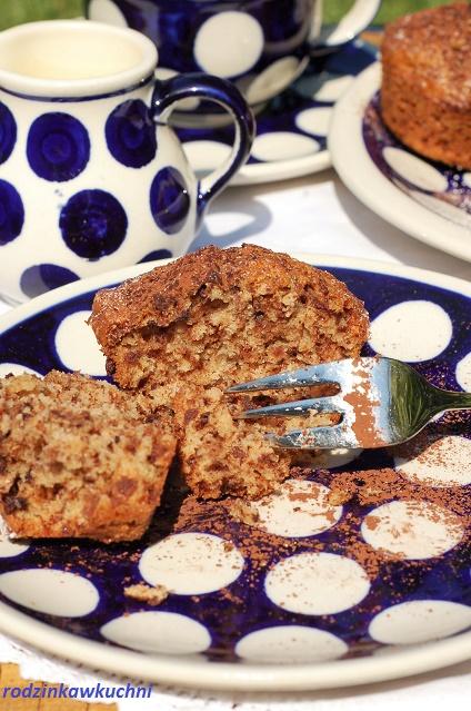 muffinki teatralne_muffinki z wafelkami_muffinki z czekoladą_słodka przegryzka_błyskawiczne wypieki
