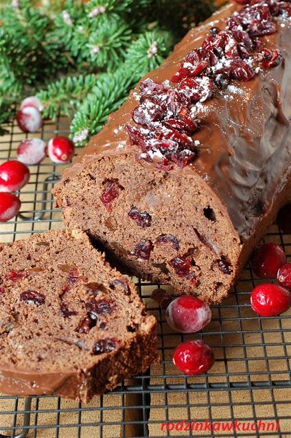 piernik Ewy Wachowicz_piernik błyskawiczny_piernik łatwy_piernik z bakaliami_ciasto na Boże Narodzenie