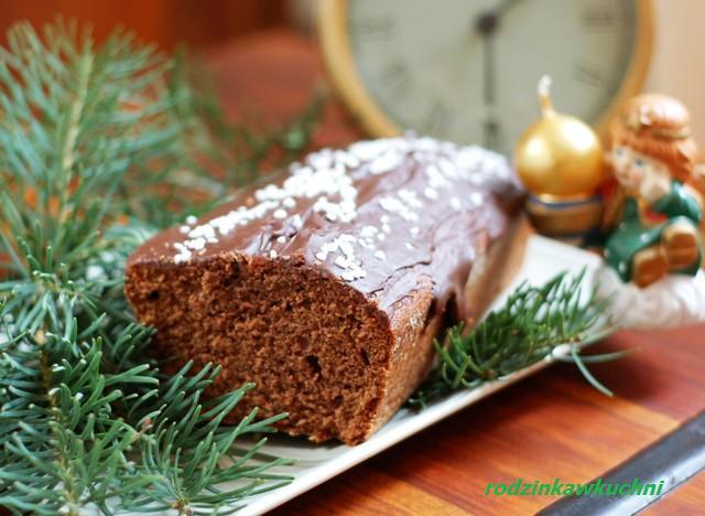 piernik siostry Anastazji_placek piernikowy_ciasto korzenne_przepisy na Boże Narodzenie
