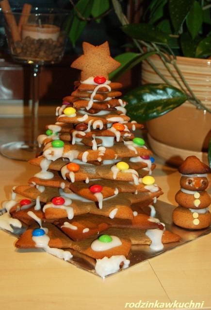 piernikowa choinka_zabawy kulinarne_pierniczki_Boże Narodzenie
